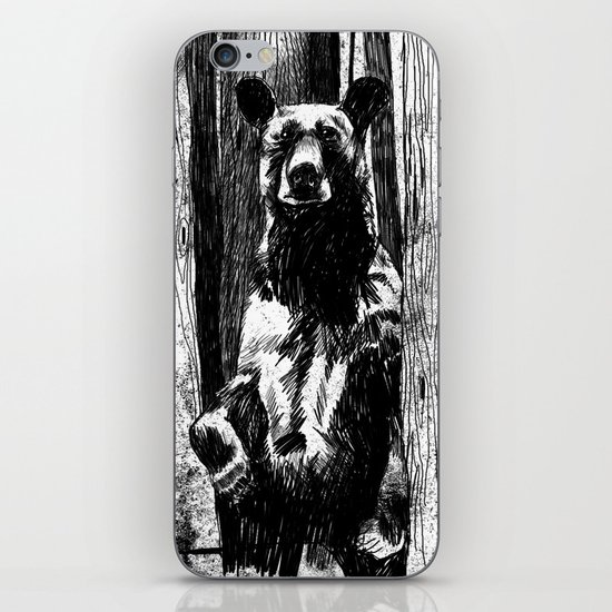 Bear With Me iPhone & iPod Skin
