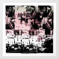 Concrete Jungle 1 Art Print