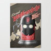 Drink Wolfenstein Canvas Print