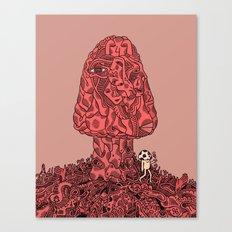 The Psilocybin Adventures of Mr.Mushroom Canvas Print