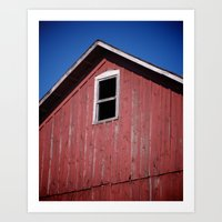 Abandon Barn Art Print