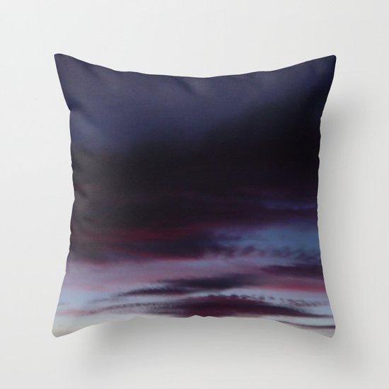 Horizon Line Throw Pillow