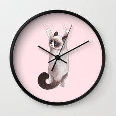 Grumpy Hang Wall Clock