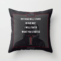 KYLO'S PROMISE Throw Pillow
