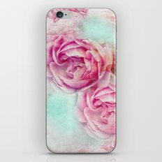 RED ROSES FOR THE LADY iPhone & iPod Skin