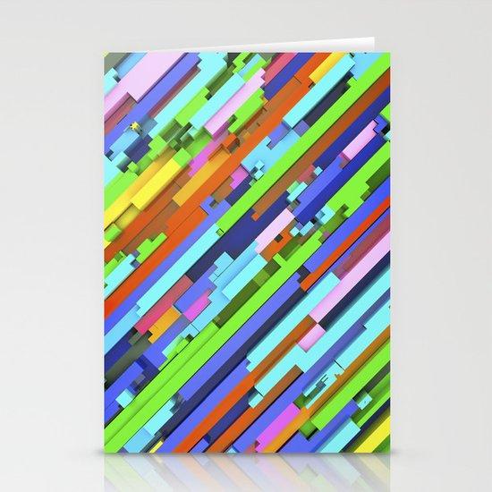 NeonGlitch 3.0 Stationery Card