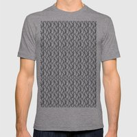 Pattern Mens Fitted Tee Athletic Grey SMALL
