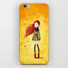 Autumn Breeze iPhone & iPod Skin