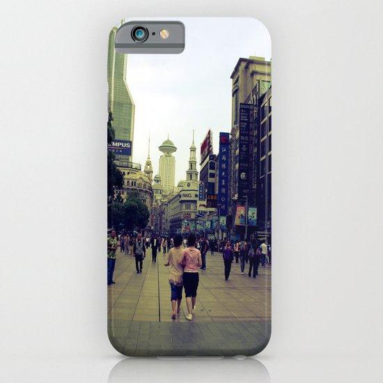 Walking Shanghai iPhone & iPod Case