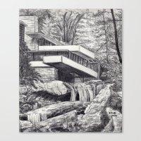 Frank Llyod Wright Canvas Print