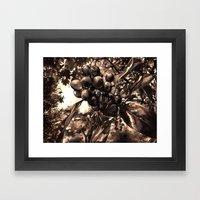 A Little Eden Framed Art Print