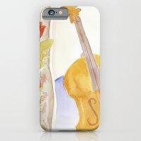 Violin and Roses iPhone 6 Slim Case
