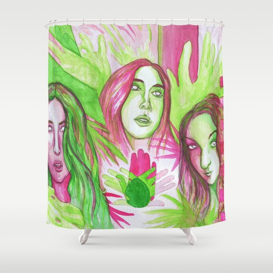 """""""Days Are Gone"""" by Cap Blackard Shower Curtain"""