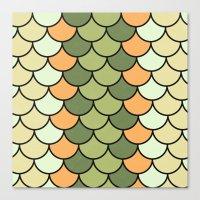 Citrus Tones Canvas Print