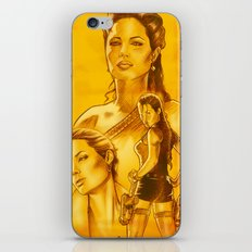 Angelina Jolie - Série Ouro iPhone & iPod Skin