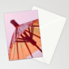 Sunshade behind the Glass Stationery Cards