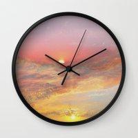 Sunrise & Sunset Wall Clock