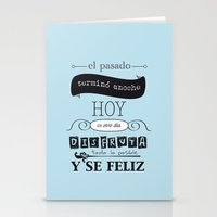 ¡Vive el presente! Stationery Cards