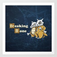 Breaking Bone Art Print