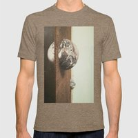 Within and Without Mens Fitted Tee Tri-Coffee SMALL