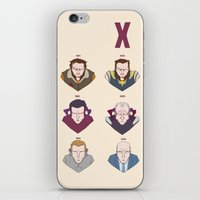 X-MEN BEFORE & AFTER iPhone & iPod Skin