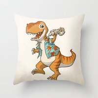 Just Keep Flying Throw Pillow