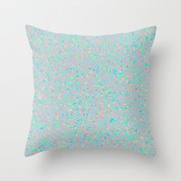Opalescent Throw Pillow