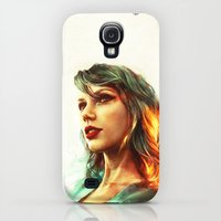Galaxy S4 Cases featuring When the Sun Came Up by Alice X. Zhang