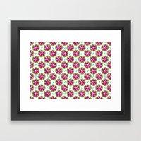 Watermelon Pieces Framed Art Print