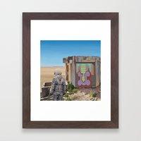 Mountaintop T Framed Art Print