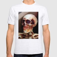 Skully  Mens Fitted Tee Ash Grey SMALL