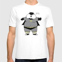 Fat Kid Costume Mens Fitted Tee White SMALL