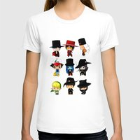 anime T-shirts featuring Anime Hatters by artwaste