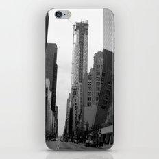 manhattan street iPhone & iPod Skin