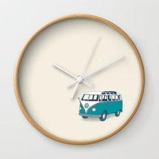 VW Campervan II Wall Clock