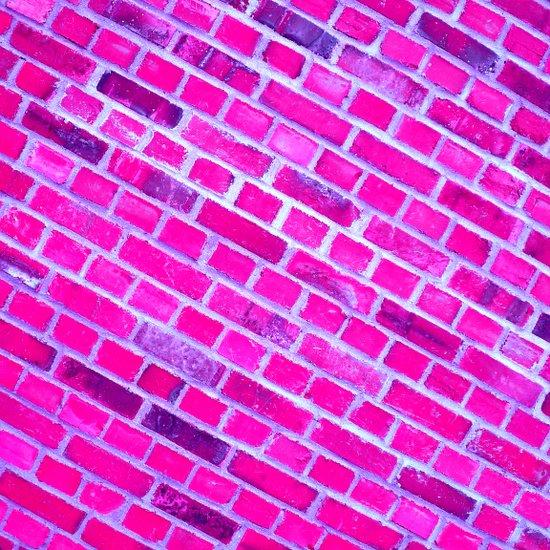violet wall II Art Print