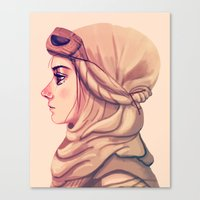Scavenger Canvas Print