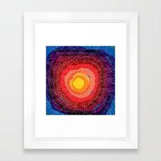 Tie-Dye Framed Art Print