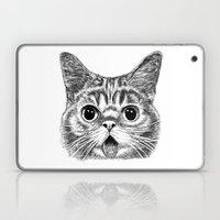 Tongue Out Cat Laptop & iPad Skin