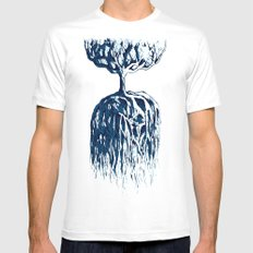 One Tree Planet *remastered* White SMALL Mens Fitted Tee