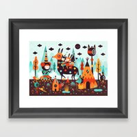 The Spirit Walker Framed Art Print