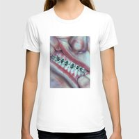 Money Mouth  Womens Fitted Tee White SMALL