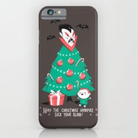 Return of the Christmas Vampire iPhone 6 Slim Case