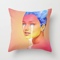 Light Thief  Throw Pillow