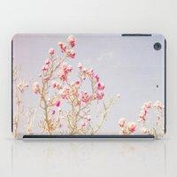 Sweet Pink Magnolias iPad Case