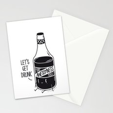 Pure awesomness Stationery Cards