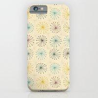 seedheads cream iPhone 6 Slim Case