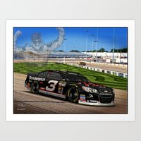 #DaleEarnhardt Old Is Ne… Art Print