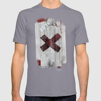 Cross my heart and hope .... Mens Fitted Tee Slate SMALL