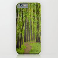 iPhone & iPod Case featuring Spring forest by maggs326